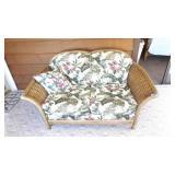 "Wicker Love Seat, 63"" L,Same as Sofa"