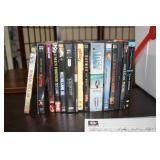 Cooler ful of DVDs,assorted