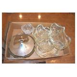 Fostoria ?, Covered Dish, 4 Large Trays