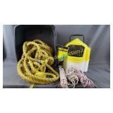 Nylon Rope, Minnow Bucket, Poly Rope