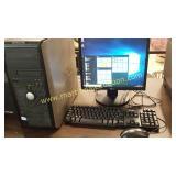 Dell Optiplex 360 Windows 10 Computer & Monitor