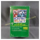 1990 Official NFL Cards - NFL Pro Set - Sealed