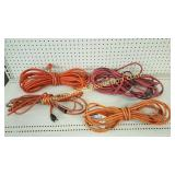 4 Electric Extension Cords