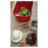 Misc Hardware, Bolts, Hose Nozzle, Hard Hat,