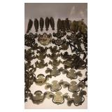 Antique Vintage Brass Furniture hardware, pulls,