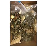 Lamp components box lot