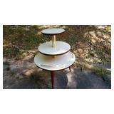 Stepped UFO Flying Saucer Table