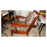 Antique Morris Chair Missing Original Cushions