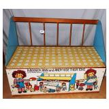 Vintage Raggedy Ann and Andy Toy Chest