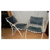 Vintage Folding Patio Chairs