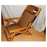 Herman Miller Outdoor Lounge Chair    Faded