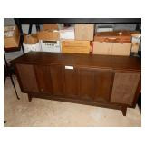 Mid Century Airline Console Stereo See Desc