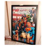 Justice League America Poster  1ST Issue 06