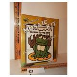 Sealed Vintage Mosaic Frog Stone Kit
