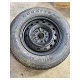 5 lug steel wheel p195/70/14