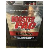Booster PAC ES5000 no charger has full charge