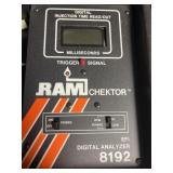 Digital injection time read out milliseconds RAM