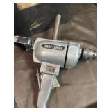 Craftsman drill and bits  with power tool case