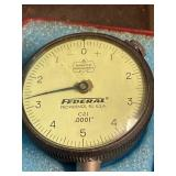 Federal Testmaster Dial Indicator C21,  .0001
