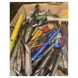 Drill bits lot and assorted