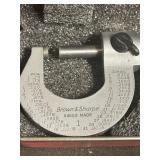 Brown & Sharpe micrometer