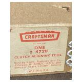 Craftsman Clutch aligning tool 4728