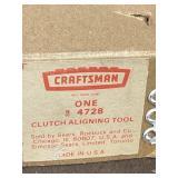 Craftsman Clutch aligning tool 4728