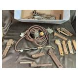 Milling tools and acetylene torch lead