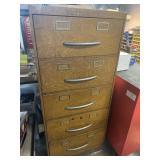 Butterrick metal cabinet 25w 57.5 t 20 deep