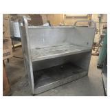 Aluminum shelving 51w 48t 26d