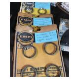 Valve seats empi bug pack clips wrist pin buttons