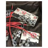Battery terminal and wires lot