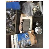 Brake pads and brake contents