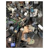 Lot of switches and fuses