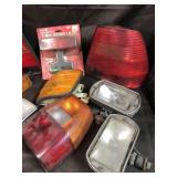 Assorted lights and light covers