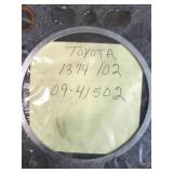 Large lot gaskets most in plastic