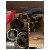Type 1 heater bells and clamps lot