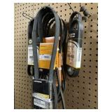 Assorted belts Napa and others 060525, 060408,