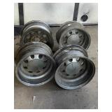 4 cragar wheels one missing center cap