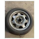 "5 lug 16"" wheel BMW w/tire"