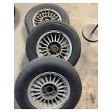 bmw wheels non matching tires 205/70/14