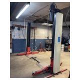 Gilbarco swing rail 2 post drive thru floor lift