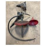 Grease pump and funnel lot