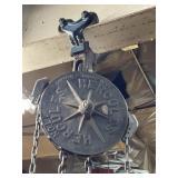 Hercules 1 ton Chain hoist Complete works well