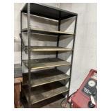 Metal shelf 36w77t 24d
