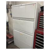 Large file cabinet organizer w 2 drawers