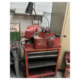 Snap-on valve refacer working