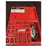 Snap on import fuel injection adapter set made in