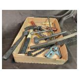 Tray lot tolls hammer screwdriver ect