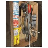 Snap on sockets, cornwell extension, pliers